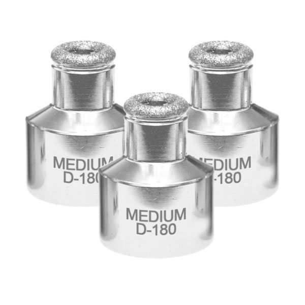 Microdermabrasion Medium Nose Tip D180 3 Pack